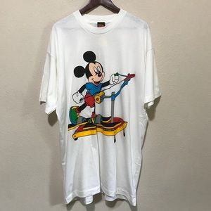 Mickey Unlimited Vintage Micky Mouse Tee Shirt XXL